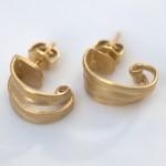 O9 - Speels gekrulde oorbellen,ontwerp je eigen juweel en laat ze voor je smeden